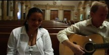 Elza Sings at Church